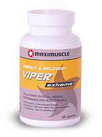 Maximuscle <strong>Viper EXTREME Capsules</strong> Extremely popular pre-training and workout supplement.