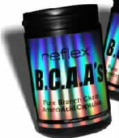 Reflex Branched Chain Amino Acids BCAA suplements