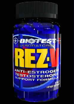 "Biotest Rez-V The remarkable Anti Estrogen ""anti-aging"" supplement"