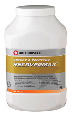 Recovermax - another top product from Maximuscle