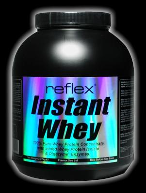 Pure Whey Protein with added Whey Isolate & digestive enzymes