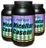 Casein - Timed release protein from Reflex Nutrition