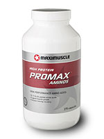 275 Capsules of Maximuscle PROMAX AMINOS per pot