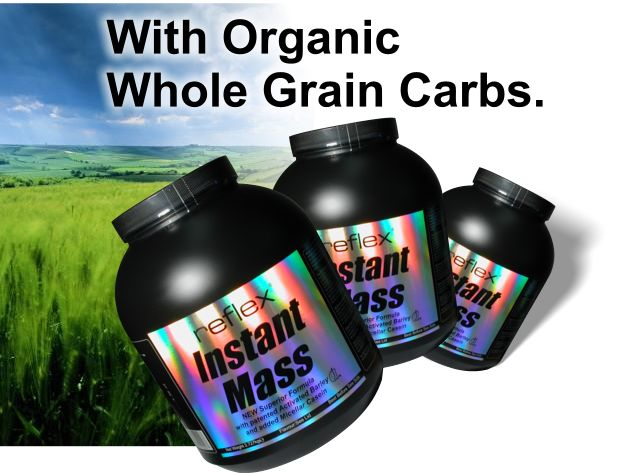 Instant Mass Weight Gainer, as used by top class athletes