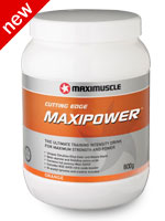 Maximuscle Maxipower - Possible the best pre-workout formula ever!
