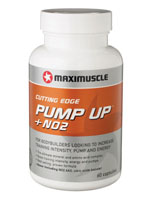 Pump Up + No2 by Maximuscle